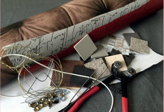fabriquer un p le m le avec un cadre en mosa que aider la revue. Black Bedroom Furniture Sets. Home Design Ideas